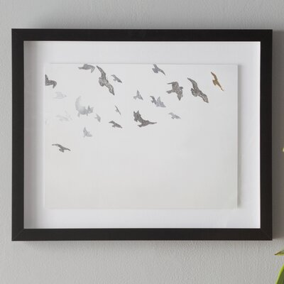 'In Flight' Framed on Paper
