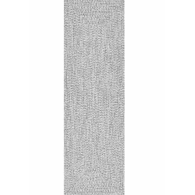 Kulpmont Gray Indoor/Outdoor Area Rug Rug Size: Runner 26 x 8