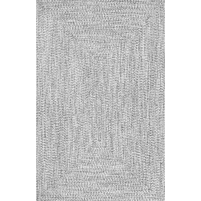 Kulpmont Gray Indoor/Outdoor Area Rug Rug Size: 76 x 96