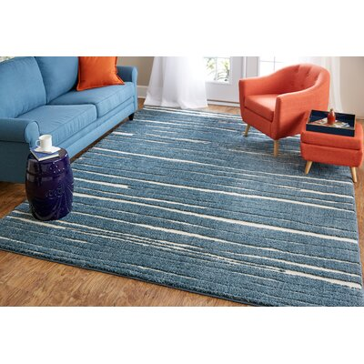 Bonino Gray Area Rug Rug Size: 8 x 10