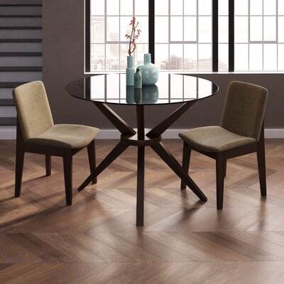 Alden Dining Table Base Finish: Coffee