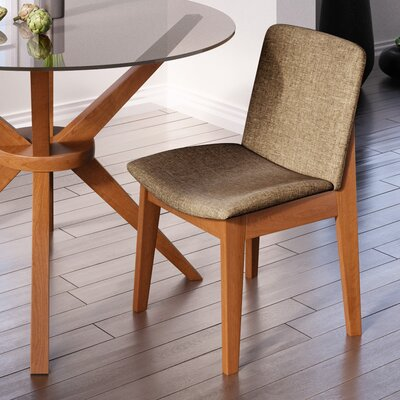Binkley Side Chair Finish: Walnut