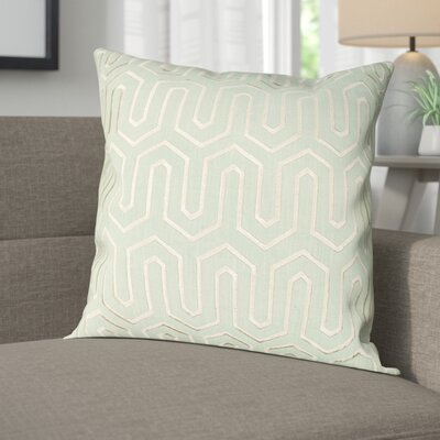Addington Point Lumbar Pillow Color: Seafoam