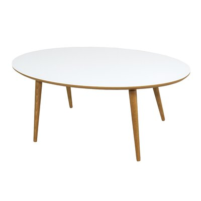 Conie Coffee Table Top Finish: White