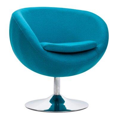 Colorado Springs Barrel Chair Color: Island Blue