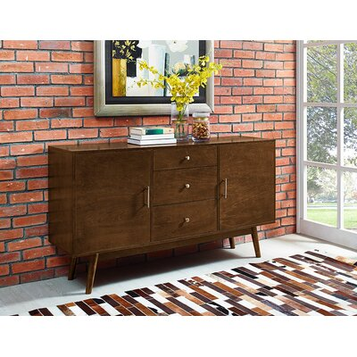 Shaun 60 TV Stand Color: Walnut