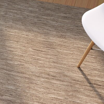 Toby Taupe Area Rug Rug Size: 9 x 13