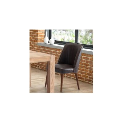 Buckhurst Upholstered Dining Chair Color: Brown