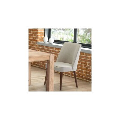 Derek Side Chair in Linen Blend - Beige