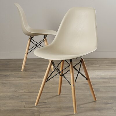 Lemoyne Side Chair Upholstery: Beige