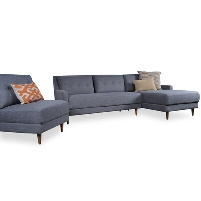 Albina Modular Sectional Orientation: Right Hand Facing