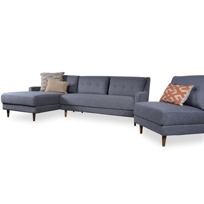 Albina Modular Sectional Orientation: Left Hand Facing