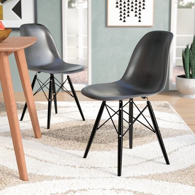 Lemoyne Side Chair Color: Brown