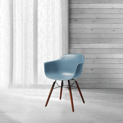 Lorenzo Mid Century Dining Chair Color: Slate