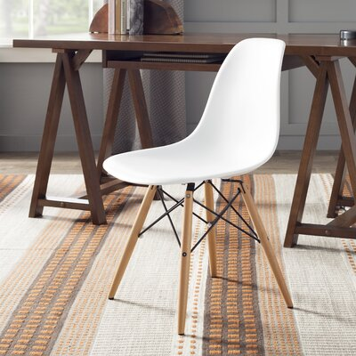 Lemoyne Side Chair Color: White
