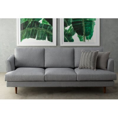 Jones Way Sofa Upholstery: Gray