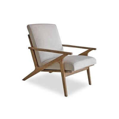 Joe Lounge Chair Upholstery: White Linen