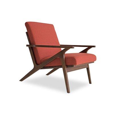 Joe Lounge Chair Upholstery: Red Orange