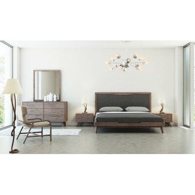 Hali Platform 5 Piece Bedroom Set Size: Queen
