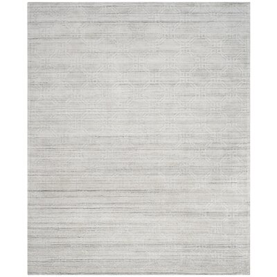 Arena Light Gray Area Rug Rug Size: Rectangle 8 x 10