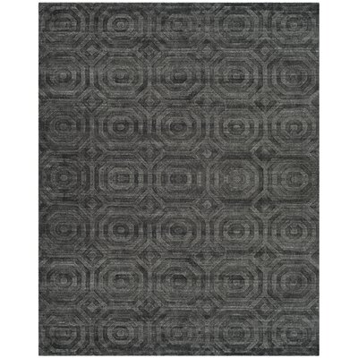 Arena Dark Gray Area Rug Rug Size: Rectangle 8 x 10