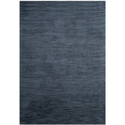 Oasis Hand-Woven Navy Area Rug Rug Size: Rectangle 6 x 9