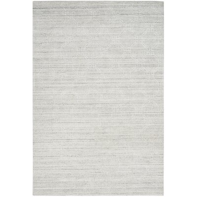 Arena Light Gray Area Rug Rug Size: Rectangle 6 x 9
