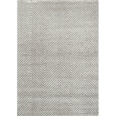 Ontario Rug in Grey Rug Size: 53 x 77