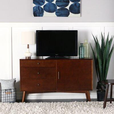 Nicolas 52 Mid-Century TV Stand Color: Walnut