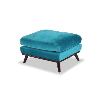 Luther Ottoman Upholstery: Poseidon Velvet