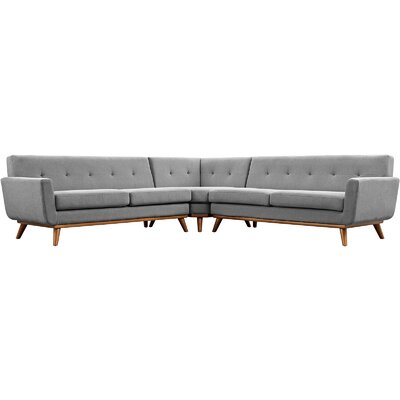 Johnston Sectional Upholstery: Expectation Gray