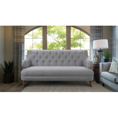 Glaucia Tufted Sofa Upholstery: Gray