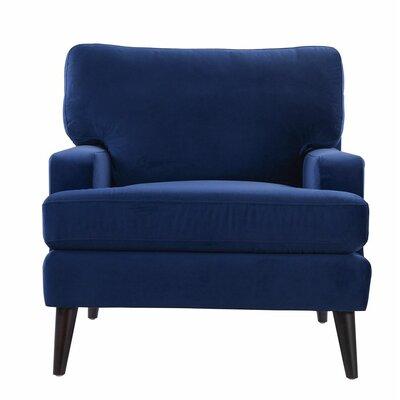 Aryanna Armchair Upholstery: Navy Blue