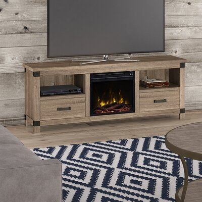 Federico 65 TV Stand with Optional Fireplace Fireplace Included: Yes
