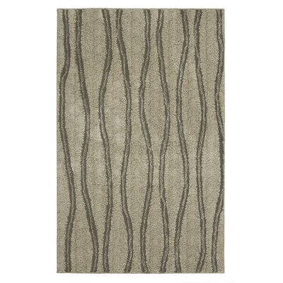 Bonino Beige/Gray Area Rug Rug Size: Rectangle 5 x 8
