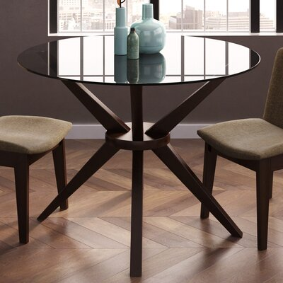 Cassidy Dining Table Base Finish: Coffee