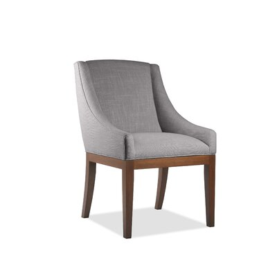 Moss Side Chair Upholstery: Gray, Finish: Cognac
