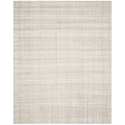 Muckamore Hand-Tufted Ivory Area Rug Rug Size: Rectangle 8 x 10
