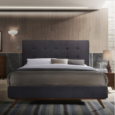 Dunouragan Century Upholstered Platform Bed Size: Queen