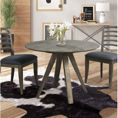Drake Dining Table Color: Nantucket, Size: 48 H x 48 W