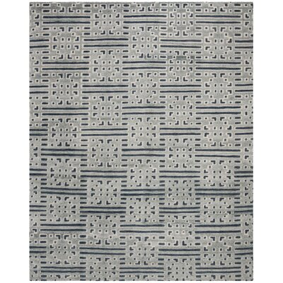 Stacy Hand Tufted Wool Blue Area Rug� Rug Size: Rectangle 8 x 10