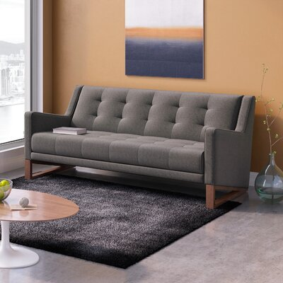Berrian Sofa Upholstery: Charcoal Gray