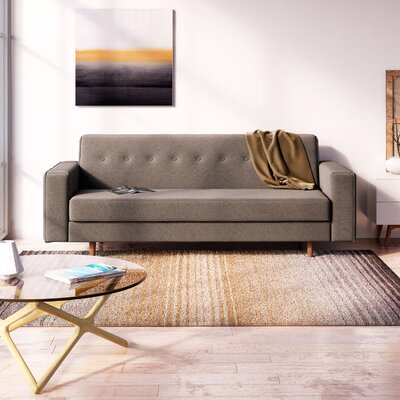 Berrien Sofa Upholstery: Charcoal Gray