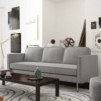 Berrier Sofa Upholstery: Heather Gray