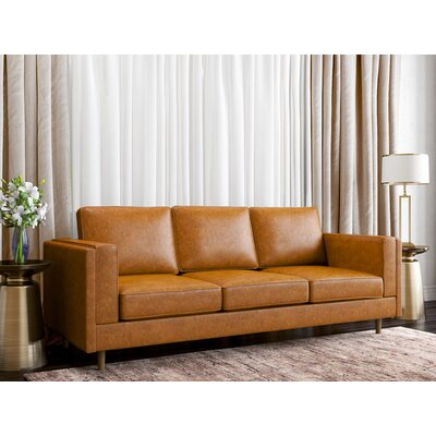Haleigh Sofa Upholstery: Honey Tan