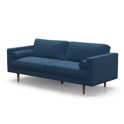 Berns Sofa Upholstery: Pacific Blue