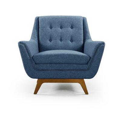 Emilie Armchair Upholstery: Blue