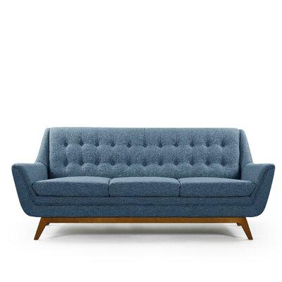 Emilie Sofa Upholstery: Blue