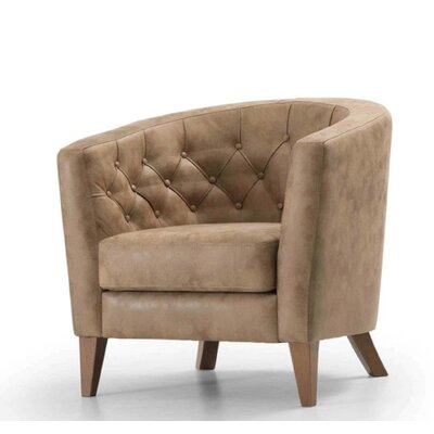 Chartrand Armchair Upholstery: Gold
