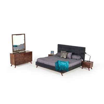 Dunouragan Platform Configurable Bedroom Set Size: Queen